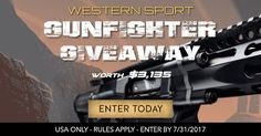 Help me win this awesome giveaway from @GunWinner