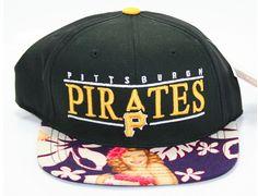 "Strapback Saturdays: MLB x SUNKEN BOOTY ""Pittsburgh Pirates Custom"" Strapback Cap"