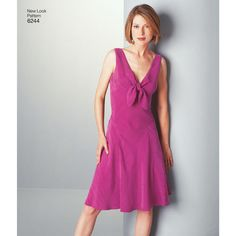 New Look Pattern 6244 Misses' Dresses