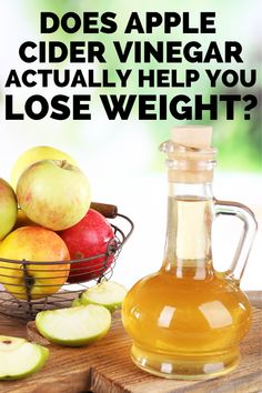 Apple cider vinegar for weight loss? Learn the truth about apple cider vinegar benefits from a Registered Dietitian! Find out whether you should have an apple cider vinegar drink.