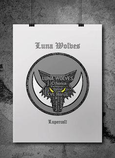 Luna Wolves Pre-Heresy Warhammer 40K by ZsaMoDesign