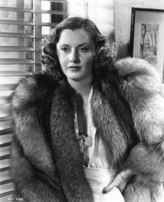Barbara Stanwyck - The Mad Miss Manton, 1938.