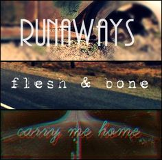 Three Killers songs Runaways Flesh & Bone Carry me Home They're all good songs ❤ Runaway 2, Midnight Show, Brandon Flowers, Soundtrack To My Life, Saved By Grace, Vocabulary Words, Best Songs, Music Lyrics, David Bowie