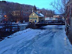 Frozen River,  Montpelier, Vermont