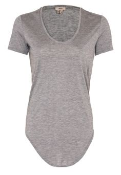 Scoop Neck Modal T-shirt by Helmut Lang | Buy from Helmut Lang online at London Boutiques