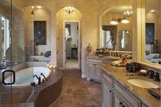 Image detail for -Old World Style Bathroom - traditional - bathroom - austin - by ...