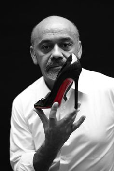 Luxury maison Louis Vuitton has teamed up with Christian Louboutin (pictured), Cindy Sherman, Frank Gehry, Karl Lagerfeld, Marc Newson and Rei Kawakubo on The Icon and The Iconoclasts project that celebrates the label's iconic monogram Rei Kawakubo, Karl Lagerfeld, Christian Louboutin Outlet, Christian Shoes, Louis Vuitton Artsy, Red Sole, Red Bottoms, Mode Style, Men's Style