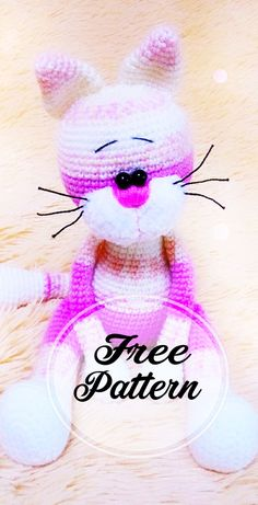 Free and Colored Murzik Cat Amigurumi Pattern - Amigurumi free pattern - Chat Crochet, Crochet Patterns Amigurumi, Amigurumi Doll, Crochet Dolls, Free Crochet, Easy Knitting Projects, Crochet Projects, Crochet Unique, How To Start Knitting