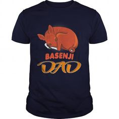 Basenji Dad Dog LIMITED TIME ONLY. ORDER NOW if you like, Item Not Sold Anywhere Else. Amazing for you or gift for your family members and your friends. Thank you! #basenji #dog #pets