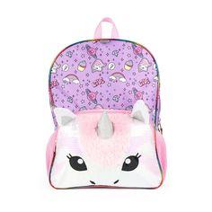 a5bb55dd15 16 Unicorn Kids  Backpack - Purple Pink