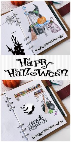 halloween bullet journal Halloween is one of the yearly celebration many of us celebrate but not all know what is that about. Check out the Halloween on wikipedia for more info Bullet Journal Tracking, May Bullet Journal, Bullet Journal Travel, Bullet Journal Cover Page, Bullet Journal Themes, Bullet Journal Layout, Bullet Journal Inspiration, Journal Pages, Journal Ideas