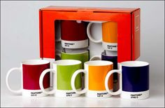 Quirky #Designer #Pantone Mugs and #Expresso Cups