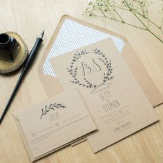 whimsical wedding invitations by sincerely may | notonthehighstreet.com