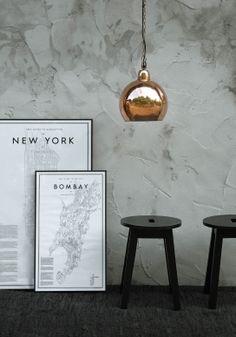 Lyktan Bankeryd copper lamp