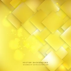 Yellow Square Background #freevectors