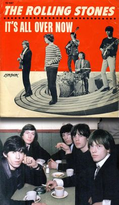 "The Rolling Stones ""It's All Over Now"" (1964) — 45 rpm Record Sleeve"