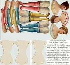♥ ♥ the digital bakery: paper dolls