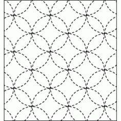Resultado de imagen para sashiko patrones gratis