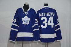 NHL Jersey Toronto Maple Leafs 34 MATTHEWS Blue Jersey