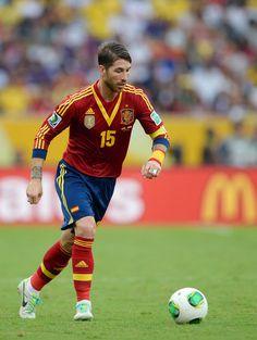 Spain Sergio Ramos Player of Real Madrid