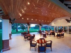 Blackbutt timber roofing installation at the Western Australia Golf Club
