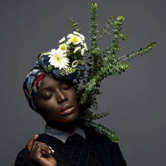 Black girls in flora