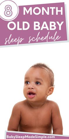 Do you want to get the best baby sleep routine and information? This article is for you, then! You get a sample sleep schedule and bedtime and nap schedule, including reasons why your 8 month old isn't sleeping. The biggest reason your baby isn't sleeping through the night, or won't sleep, is the 8 month sleep regression. We've got tips for that, too! Find out why awake times are important and much more! #babysleeptips #babysleepschedule #babysleeproutine #8montholdbaby #8montholdsleeptips #mom Baby Sleep Routine, Baby Sleep Schedule, Bedtime Routine, 8 Month Old Sleep, 8 Month Old Baby, 8 Month Sleep Regression, Gentle Sleep Training, 8 Month Olds, Sleeping Through The Night