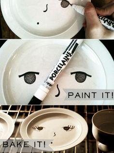 smiling plates