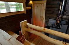 Laudekaide/Salvos Outdoor Sauna, Outdoor Decor, Sauna House, Sauna Design, Finnish Sauna, Wooden Architecture, Best Cleaning Products, Spa Rooms, Small Buildings