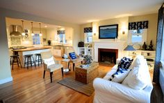 SoPo Cottage: The Beach Cottage - Reinventing a 1940's Cape Cod