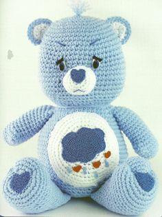 By Vintage Design: Care Bears Crochet Patterns
