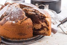 Marble Cake Stock Photo (Edit Now) 139761919 Marble Cake, Food Cakes, Healthy Eating Tips, Healthy Nutrition, Cake Stock, Vegetable Drinks, Banana Bread, Cake Recipes, Food And Drink