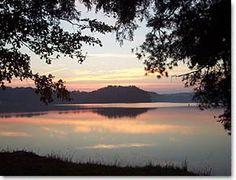 ładne jezioro :)