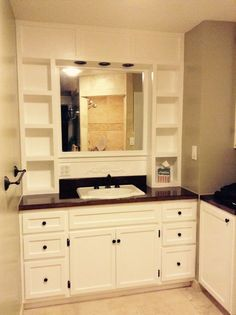 Vanity Built In | Do It Yourself Home Projects from Ana White