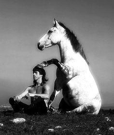 Horse meditation