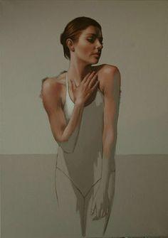 Al Saralis | British Figurative painter