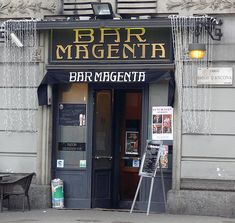 Milano, Bar Magenta -  The most traditional Cafè in Milan