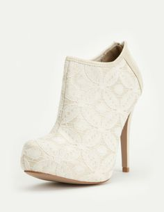 I want these so bad!too bad i can't order them... Qupid System-214 Laced Bootie Ankle Boot
