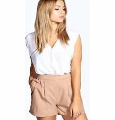 boohoo Maria Exposed Zip Detail Woven Shorts - camel These chic shorts are a sleek option for city dressing. Well be wearing them with a boxy blouse , brogues and structured bag for an androgynous look. http://www.comparestoreprices.co.uk/dresses/boohoo-maria-exposed-zip-detail-woven-shorts--camel.asp