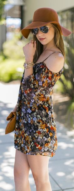 Style Know Hows: Stunning Silk Strap Off Shoulder Summer Dress.