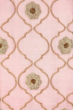 Blush pink embroidered kurta with mukaish sharara available only at Pernia's Pop-Up Shop.