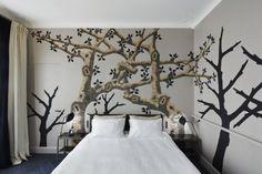 Bedroom designed by Sarah Lavoine.
