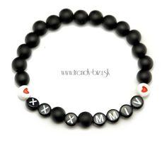 2d286658c 76 najlepších obrázkov na tému Náramky s menom | Beaded bracelets ...