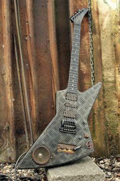Cyberpunk Explorer - Hutchinson Guitar Concepts  Love it!