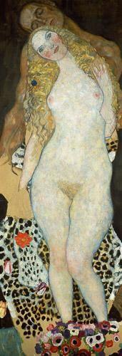 Gustav Klimt - Adam et Eve