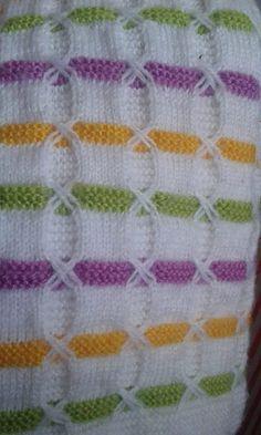 Cross Harosha Two-Color Knitting Model Construction Bebek yelek Baby Knitting Patterns, Knitting For Kids, Lace Knitting, Knitting Socks, Knitting Designs, Knitting Stitches, Baby Patterns, Stitch Patterns, Crochet Patterns