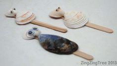 Sea Shell Craft - Puppets, Bags & Fairy Cups