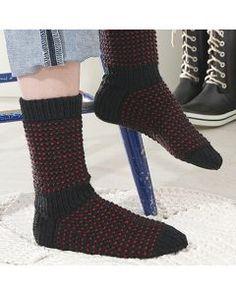 Villasukat - Käsityöohjeet | Lankava.fi Knitting Socks, Knit Socks, Knitting Patterns, Knitting Ideas, Knit Crochet, Crotchet, Leg Warmers, Mittens, Slippers
