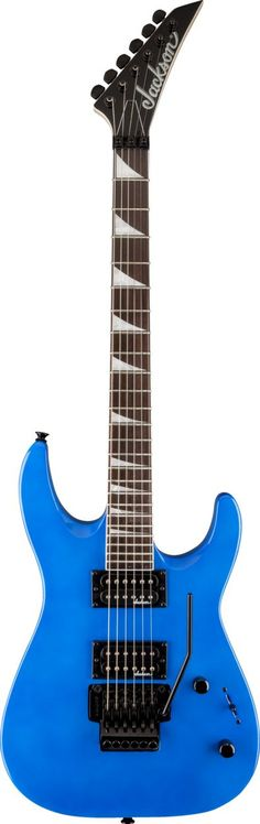 """Jackson JS32 Dinky Electric Guitar The JS32 Dinky Arch Top has an elegantly arch-topped basswood body, bolt-on maple speed neck with graphite reinforcement, compound-radius (12""""-16"""") bound rosewood fi"""