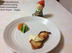 #FizPorqueAprendi  #sambaCooking  Salsa holandesa  Jacke thiemi - Japão